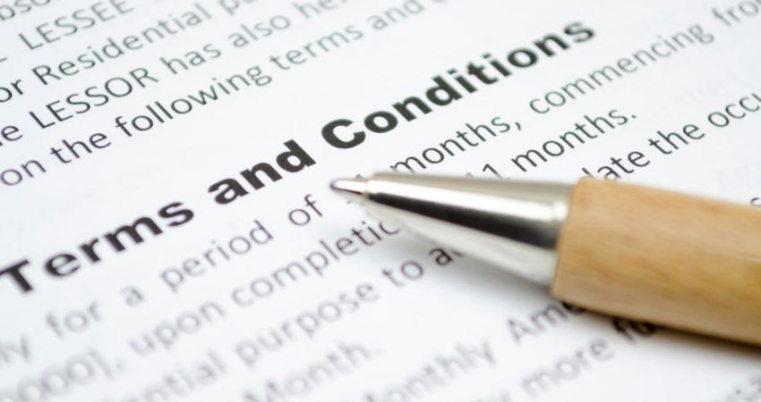 Uskladitev Splošnih pogojev uporabe storitev z GDPR