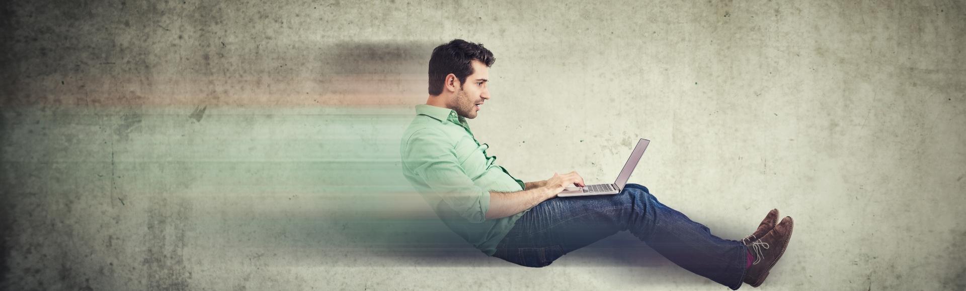 Noro hiter in zanesljiv internet